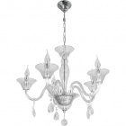 Ceiling Lamp ROSALINA 5xE14 H.Reg.xD.60cm Transparent