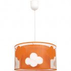Pendant Light NUBE 1xE27 H.Reg.xD.30cm Orange