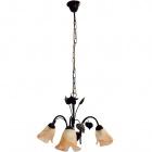 Ceiling Lamp NAPOLES 3xE14 H.Reg.xD.55cm Brown