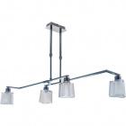 Ceiling Lamp MOLEDO large 4xGU10 L.85xW.30xH.Reg.cm Chrome