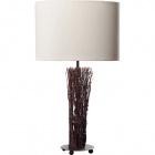 Table Lamp VILAMOURA 1xE27 H.53xD.30cm Beije/Brown