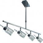 Ceiling Lamp COLORADO 4xG9 L.73xW.15xH.Reg.cm Chrome
