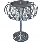 Table Lamp GLACIAR 3xG9 H.50xD.43cm Chrome