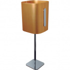 Table Lamp ELEGANCE 1xE14 L.16,5xW.16,5xH.51cm Gold/Chrome