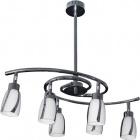 Ceiling Lamp BEJA 6xGU10 L.60xW.34xH.Reg.cm Chrome