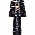 Table Lamp ELSA 1xE27 H.52xD.26cm Black