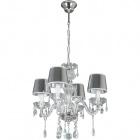 Ceiling Lamp EDUARDA small 4xE14 H.Reg.xD.40cm Chrome