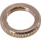 Brass washer knurled D.13xH.2,5mm slip hole M10x1