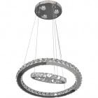 Ceiling Lamp SABRINA 30x1W LED+3x3W LED 3500lm 3000K H.Reg.xD.50cm Chrome