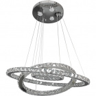 Ceiling Lamp SABRINA 54x1W LED+3x3W LED 5800lm 3000K H.Reg.xD.70cm Chrome