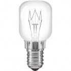 Light Bulb E14 (thin) Oven-ready CLASSIC CLEAR 300ºC 15W 2700K 80lm -E