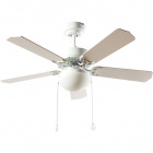 Ceiling Fan HERACLES 5 blades 2xE27 H.40xD.107cm White