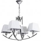 Ceiling Lamp INDIANA 4xE14 L.60xW.60xH.Reg.cm White/Chrome