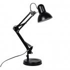 Table Lamp ANTIGONA articulated 1xE27 L.15,5xW.34xH.Reg.cm Black