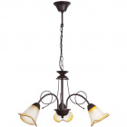 Ceiling Lamp MARSELLA 3xE14 H.Reg.xD.52cm Brown