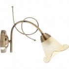 Wall Lamp MARSELLA 1xE14 L.14xW.27,5xH.20cm Antique Brass
