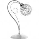 Table Lamp KRIPTON 1xG9 L.16xW.22xH.33cm Chrome
