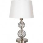 Table Lamp KEGAN 1xE27 H.48xD.30cm Antique Brass/White