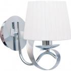 Wall Lamp CLEVELAND 1xE14 L.15xW.23,5xH.26cm Chrome/White