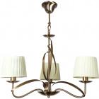 Ceiling Lamp DETROIT 3xE14 H.Reg.xD.60cm Antique Brass/Beije