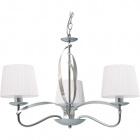 Ceiling Lamp DETROIT 3xE14 H.Reg.xD.60cm Chrome/White
