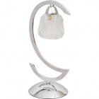 Table Lamp ROSARIO 1xE14 Transparent/Chrome