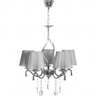 Ceiling Lamp TENERIFE 5xE14 H.Reg.xD.65cm Grey/Chrome