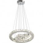Ceiling Lamp RADON 1x72W LED 9000lm 3000K H.Reg.xD.42,5cm Transparent