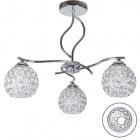 Ceiling Lamp Balbina 3xE27 H.39xD.45cm Chrome