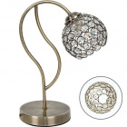 Table Lamp BALBINA 1xE27 L.15xW.27xH.35cm Antique Brass