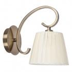 Wall Lamp PANAMA 1xE14 Antique Brass/Beije