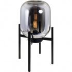 Table Lamp MURILO 1xE27 L.28xW.28xH.50cm Black