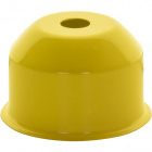 1*2 E27 cover for lampholder metal yellow