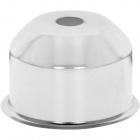1*2 E27 cover for lampholder metal chrome