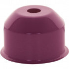 1*2 E27 cover for lampholder metal pink