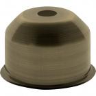 1*2 E27 cover for lampholder metal antique brass