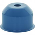 1*2 E27 cover for lampholder metal blue