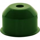 1*2 E27 cover for lampholder metal green