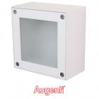 Plafond QUADRA square IP65 1xR7S 78mm L.15xW.8xH.15cm White