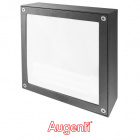Plafond QUADRA MAX IP65 1xG24d-3 L.25xW.25xH.8,5cm Anthracite