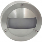 Wall Lamp LIMA IP44 1xG9 H.6xD.15cm Stainless Steel+Glass Stainless Steel