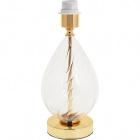 Base for Table Lamp ESTOI 1xE27 H.33xD.14cm Gold
