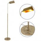 Floor Lamp SPACE 1xE27 L.25xW.34,5xH.Reg.cm Antique Brass