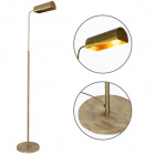Floor Lamp SPACE round 1xE27 L.25xW.34,5xH.Reg.cm Antique Brass