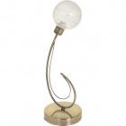 Table Lamp VITA 1xG9 H.44xD.15cm Antique Brass