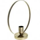 Table Lamp MOON 1xE27 L.30xW.12xH.33cm Antique Brass