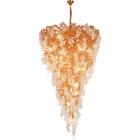 Ceiling Lamp SEVERA 15xG9 H.Reg.xD.76cm Gold