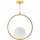 Pendant Light AIMEE 1xE27 H.Reg.xD.31cm Gold