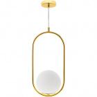 Pendant Light AIMEE 1xE27 H.Reg.xD.20cm Gold