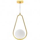 Pendant Light AIMEE 1xE27 H.Reg.xD.21,5cm Gold